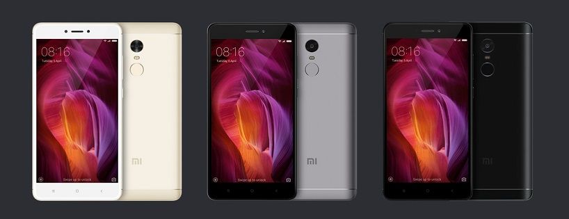 телефоны xiaomi redmi note 4x